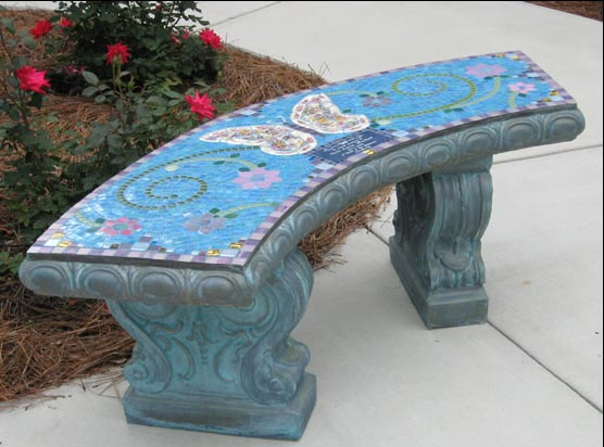 Anitas Butterfly Memorial Bench